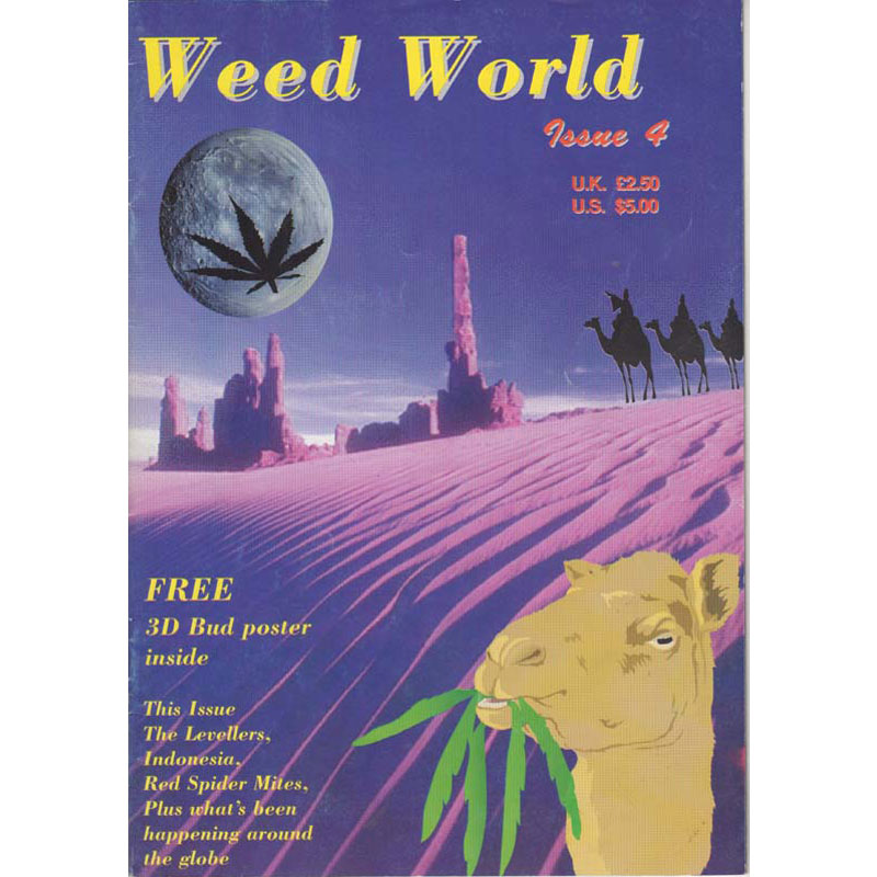 Weed World Magazine Issue 4