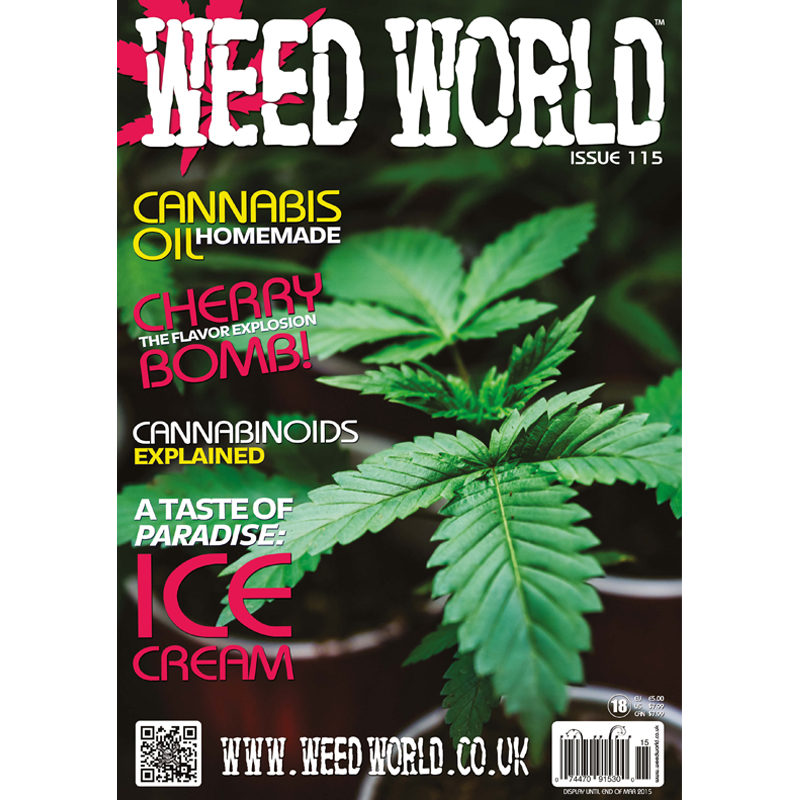 Weed World Magazine Issue 115