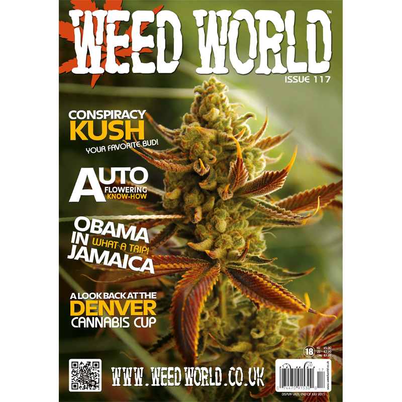 Weed World Magazine Issue 117
